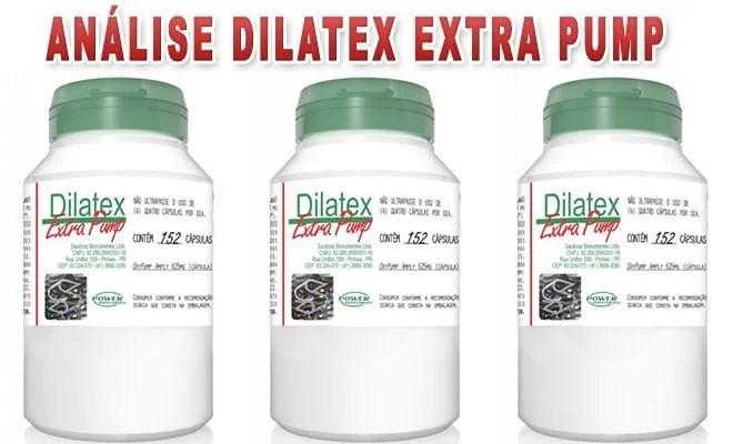 Dilatex Extra Pump funciona Veja para que serve, seus benefícios e como tomar