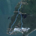 Tracklog Praia de Naufragados – Florianópolis