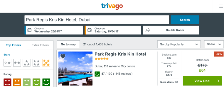 cheap luxury 5* hotels in Dubai