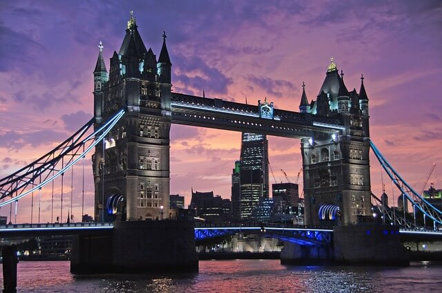 luxury london city break from Glasgow