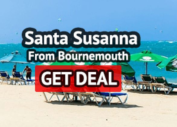 Santa Susanna half board from Bournemouth