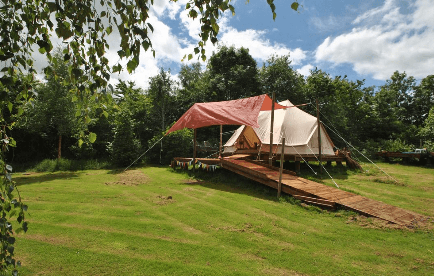 Glamping this summer