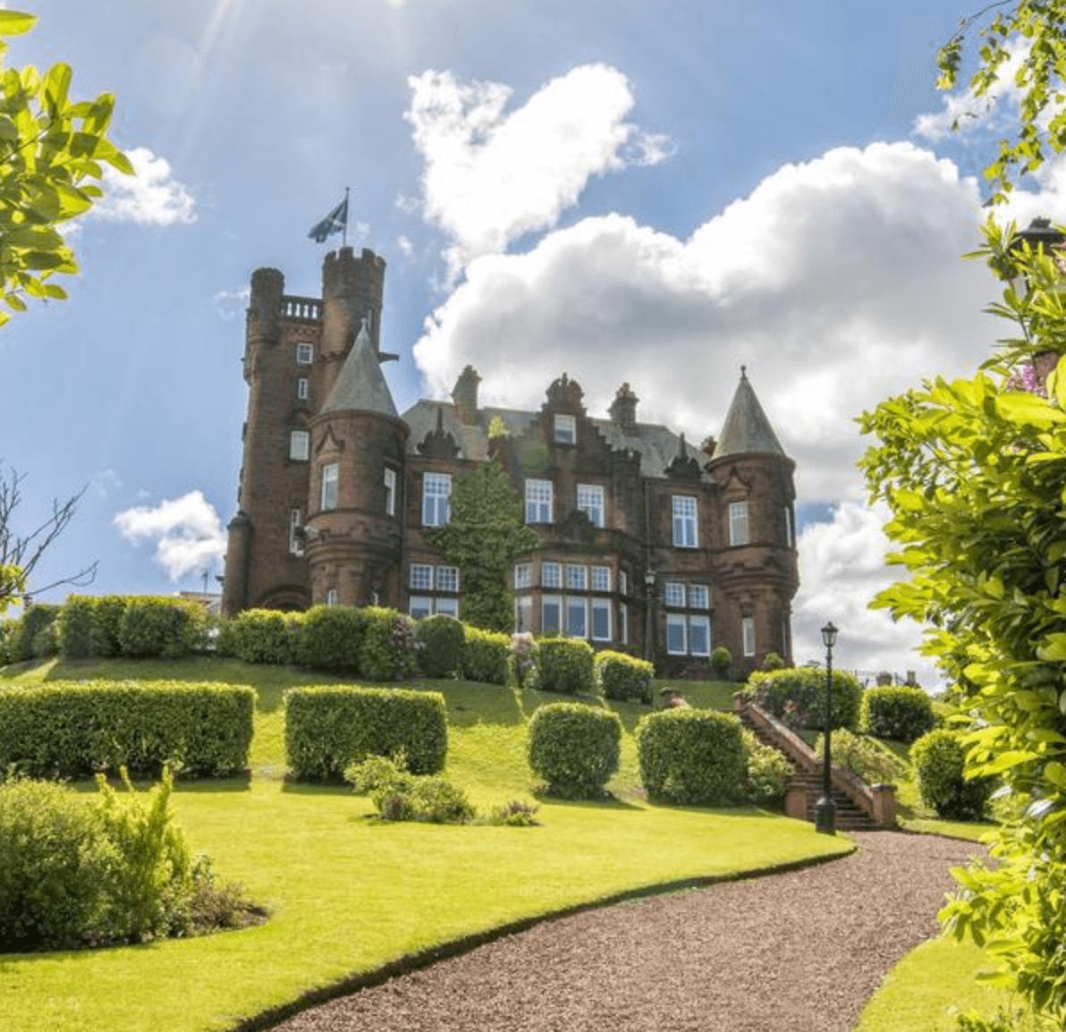 Stay in a luxury Scottish Castle
