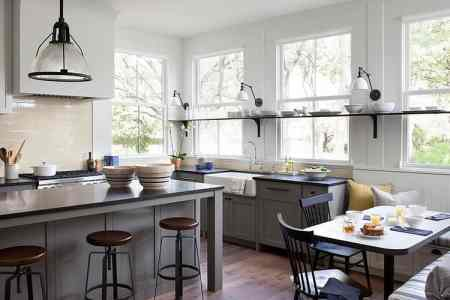 modern farmhouse incorporates traditional details eclectic lifestyle 2 kitchen