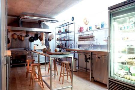 restaurant style kitchen gad architecture 1