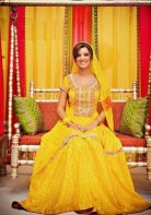 mehndi dresses for bridal 2013 7