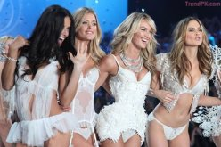 Adriana Lima Doutzen Kroes Candice Swanepoel and Behati Prinsloo