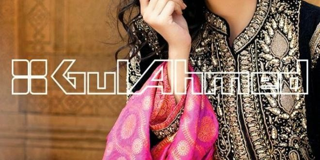 Gul Ahmed Embroidered Silk Velvet Coat Collection