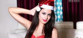 Actress Shobhita Rana turned Sexy Santa