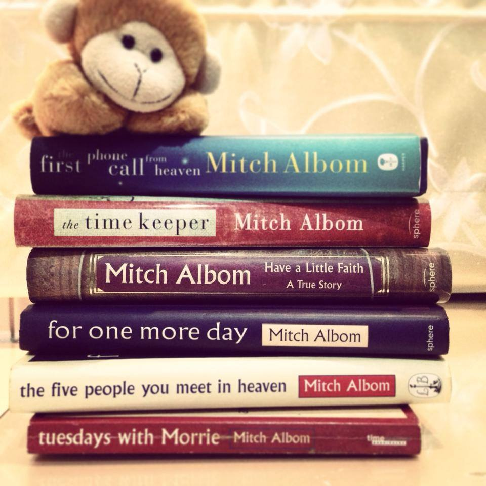 Mitch-Albom-books