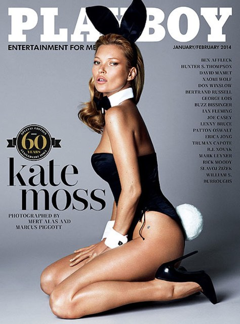 Kate Moss in January/February 2014