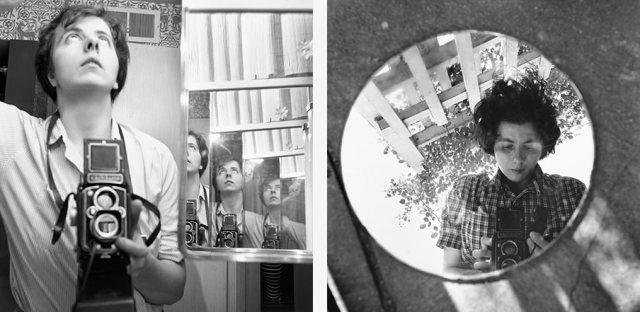 Vivian Maier - Autoportraits