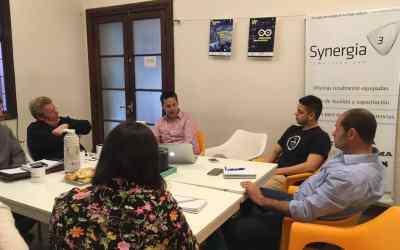 Ombroni se reunió con el Grupo Ril y el Ministro provincial de Producción