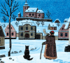 Holiday-Cards-Josef-Lada-Tres-Bohemes
