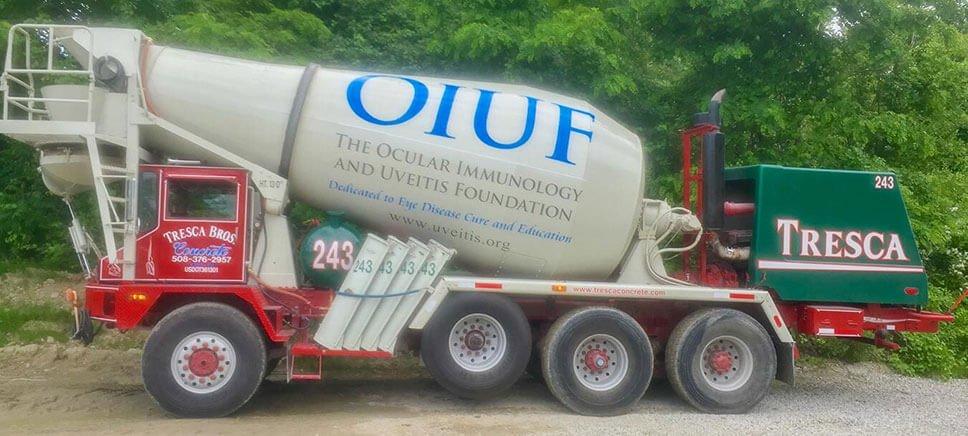 Concrete Truck with OIUF Logo
