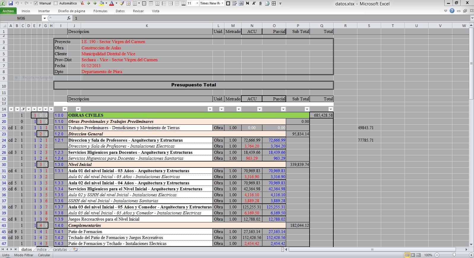 Calcular costos y presupuestos en planos de casas - Presupuesto de casa ...