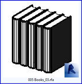 Familias de Revit | Biblioteca | 005 - Libros modelo 03