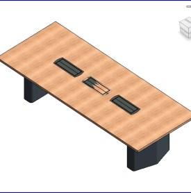 0159 E Coalesse mesa rectangular  .rfa