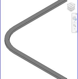 0197 Cubiculo pista de la cortina ajustable .rfa