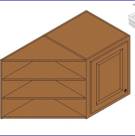 0217 cabina de madera en el techo con cremallera lateral  .rfa