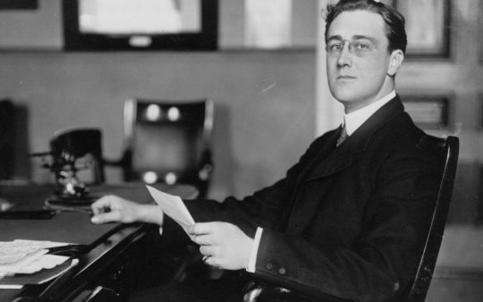 FDR as a young man via Daily Beast