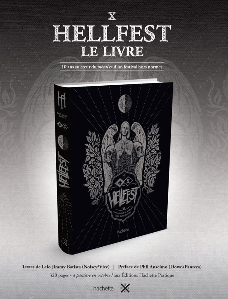 HELLFEST : Le Livre !
