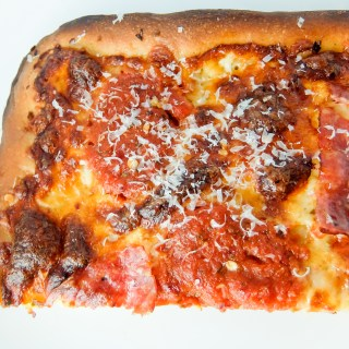 Pan Pizza with Soppressata