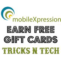Earn Free Gift Card- Tricks N Tech
