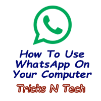 whatsapp on your computer logo