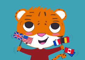 Bilingual books for children in French, Spanish and German