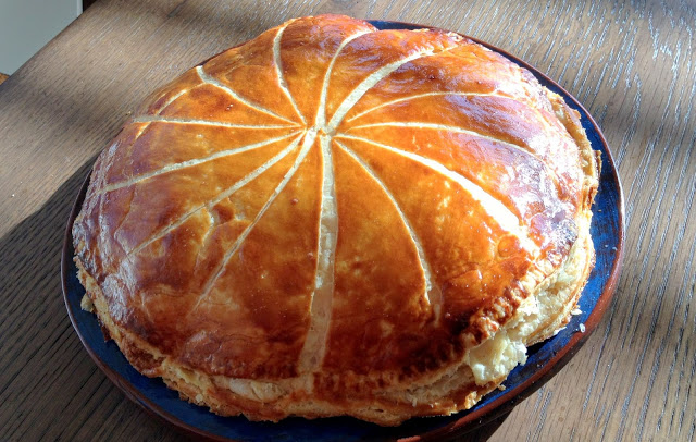 Galette des rois tradition (Epiphany Day in France)