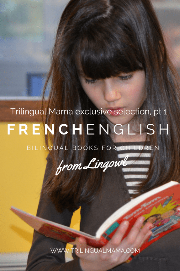 French English bilingual books (Lingowl discount inside) | Trilingual Mama