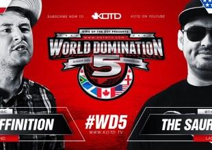 KOTD Rap Battle – Deffinition vs The Saurus