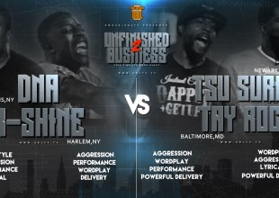 Rap Battle: Tsu Surf & Tay Roc VS K Shine & DNA (Rematch)
