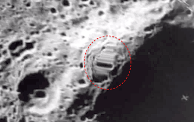 UFOs on the moon  A Photo Essay Photos from NASA USGS