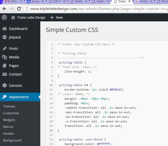 Pricing-Table-Custom-CSS-Insert-Field