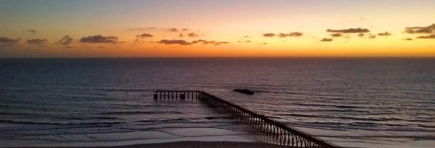 Visit Rosarita Beach at sunset