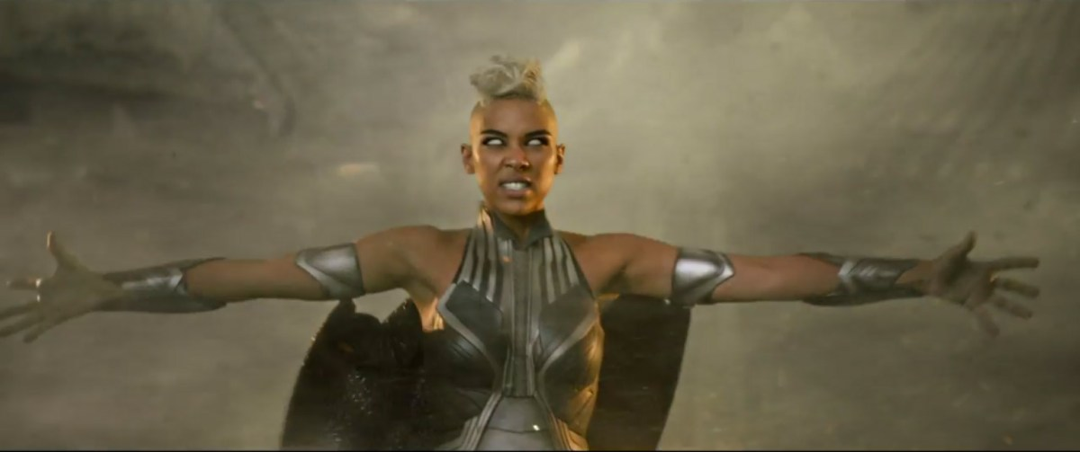 Storm and Angel From X-Men: Apocalypse