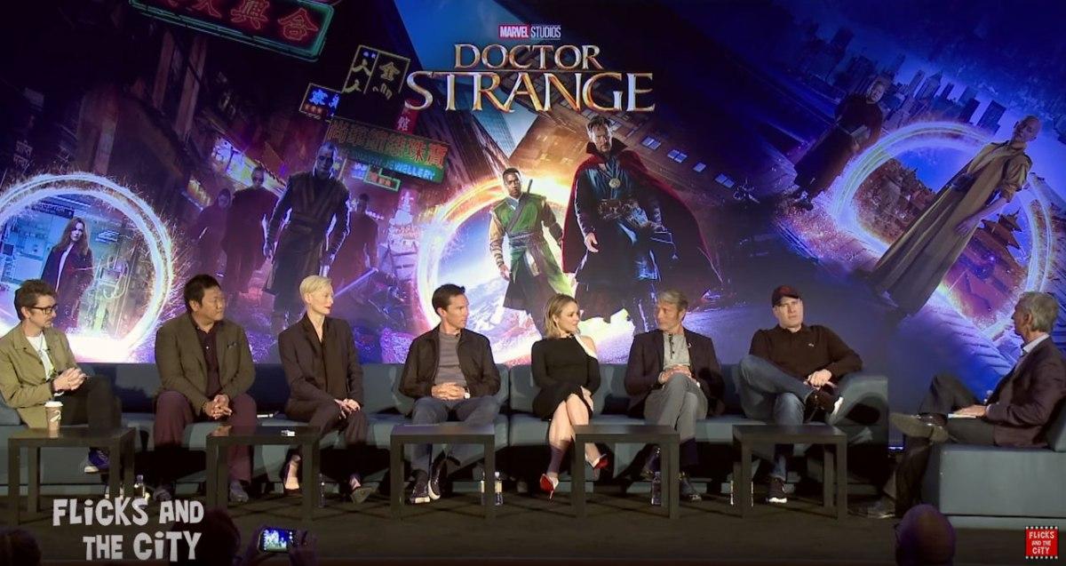 Doctor Strange Press Conference