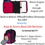 Blogger Opp – Back To School MeadFiveStar Giveaway