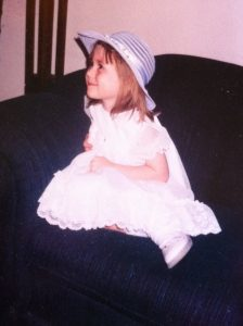 Mikelyn at 4.5 years old.