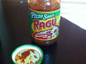 Ragu was the blue toothpick.
