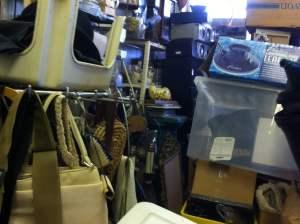 Junk in junk store