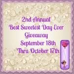 2nd Annual Best Sweetest Day Ever #Giveaway Ends Oct. 17 @las930 ENDED
