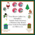 Two Rivers Coffee Co. Friendly's Variety Pack #Giveaway Ends Dec. 25 ENDED