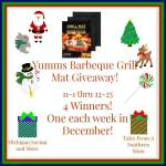 Yumms! Barbeque Grill Mat #Giveaway #GTG2015 Ends Dec. 25 ENDED