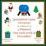 Fun Sparks Jazzminton Game #Giveaway #GTG2015 Ends Dec. 25 ENDED