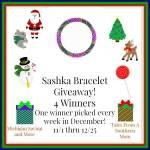Sashka Bracelets #Giveaway Ends Dec. 25 ENDED