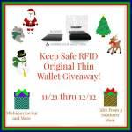 Allet Keep Safe RFID Original Thin Wallet #Giveaway #GTG2015 Ends Dec. 12 ENDED