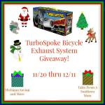 TurboSpoke Bicycle Exhaust System #Giveaway #GTG2015 Ends ENDED